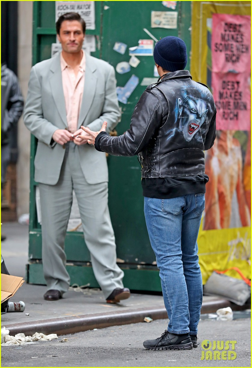 james franco is all smiles while directing the deuce 03