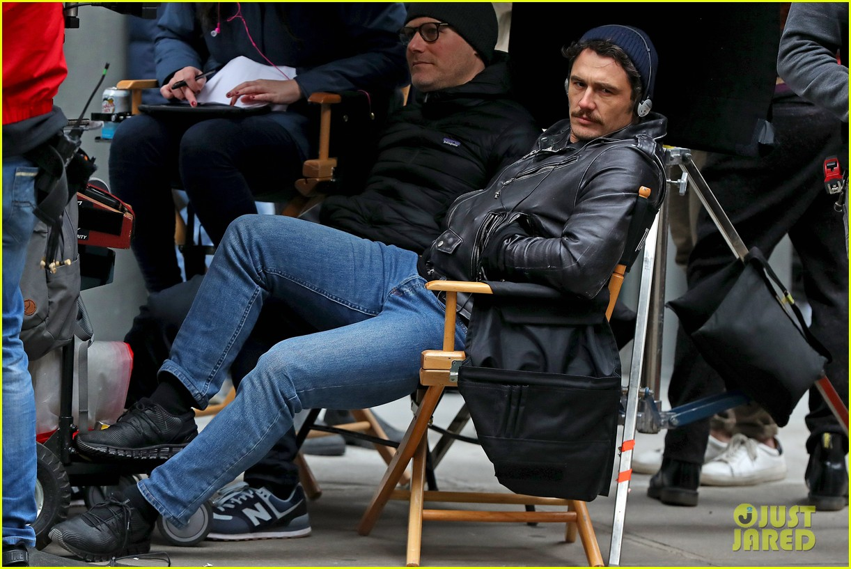 james franco is all smiles while directing the deuce 04