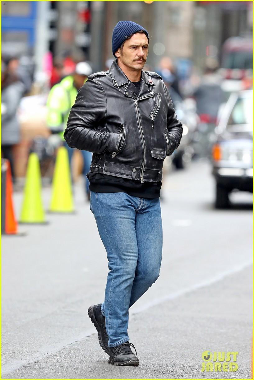 james franco is all smiles while directing the deuce 05