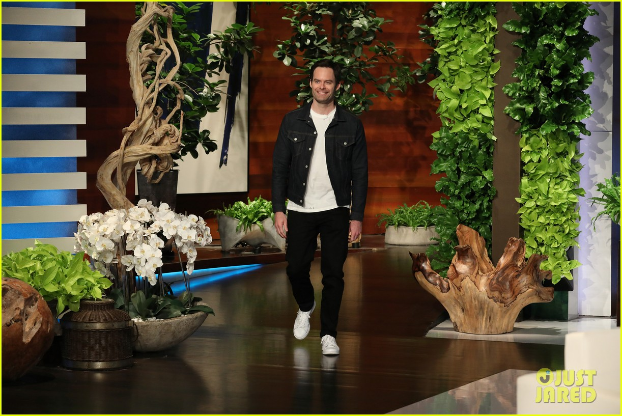 bill hader tells ellen he was forced to work out for barry role watch here 02
