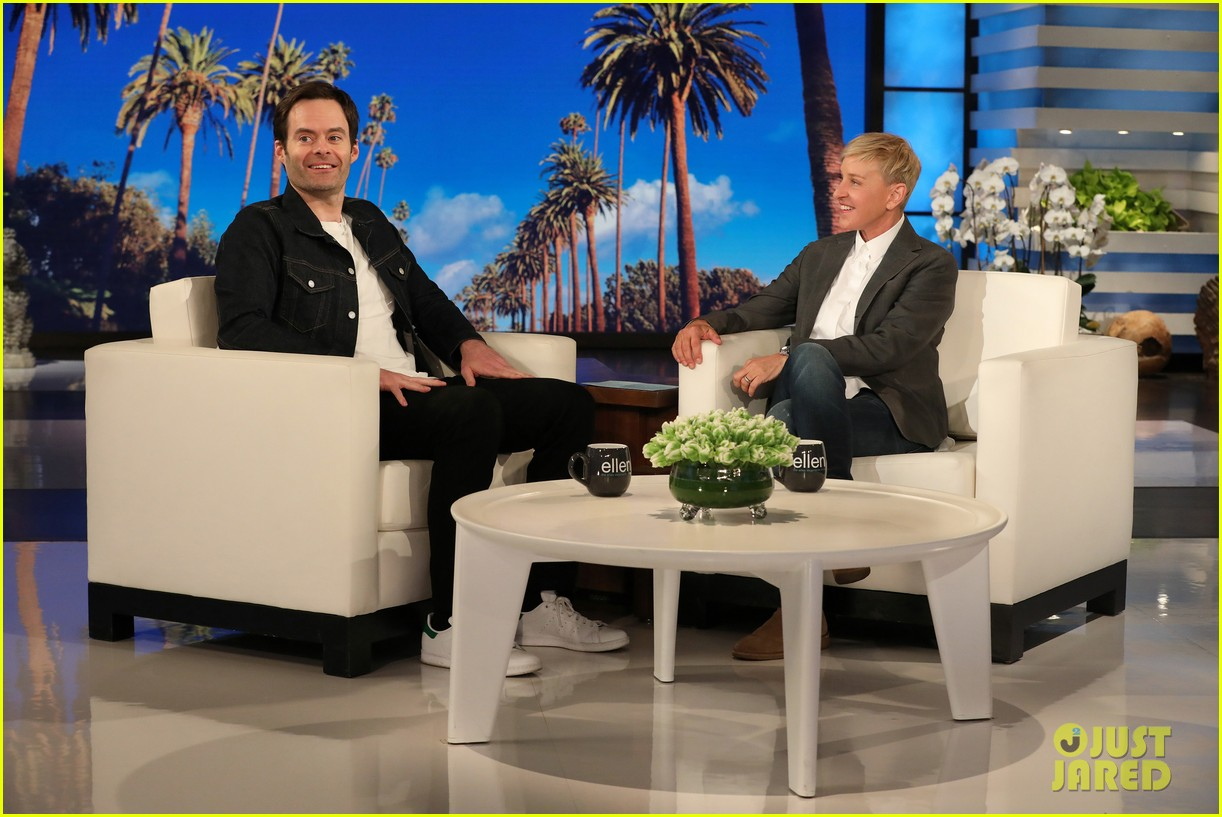 bill hader tells ellen he was forced to work out for barry role watch here 03