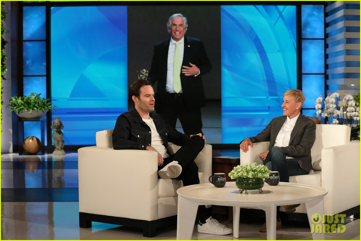 bill hader tells ellen he was forced to work out for barry role watch here 04