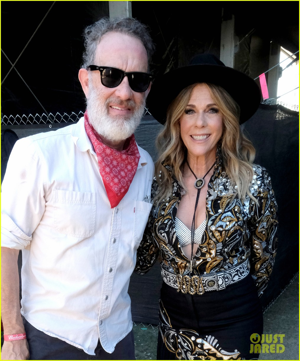 tom hanks supports rita wilson she performs at stagecoach 014278874