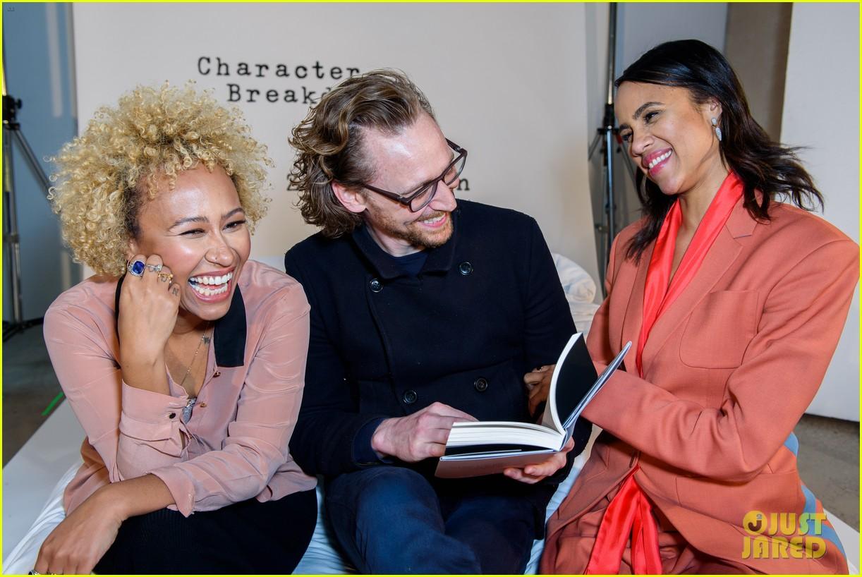 tom hiddleston supports betrayal co star zawe ashton at book launch 06