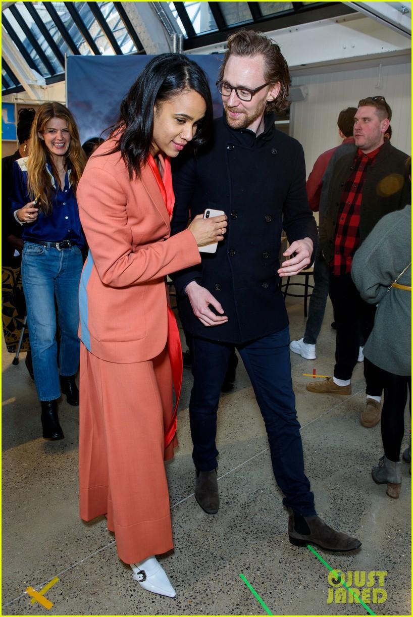 tom hiddleston supports betrayal co star zawe ashton at book launch 07
