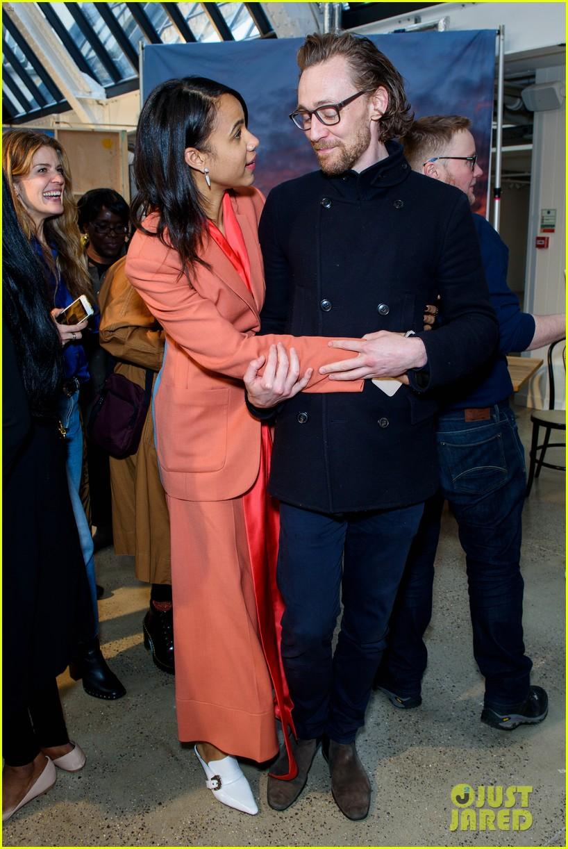 tom hiddleston supports betrayal co star zawe ashton at book launch 08