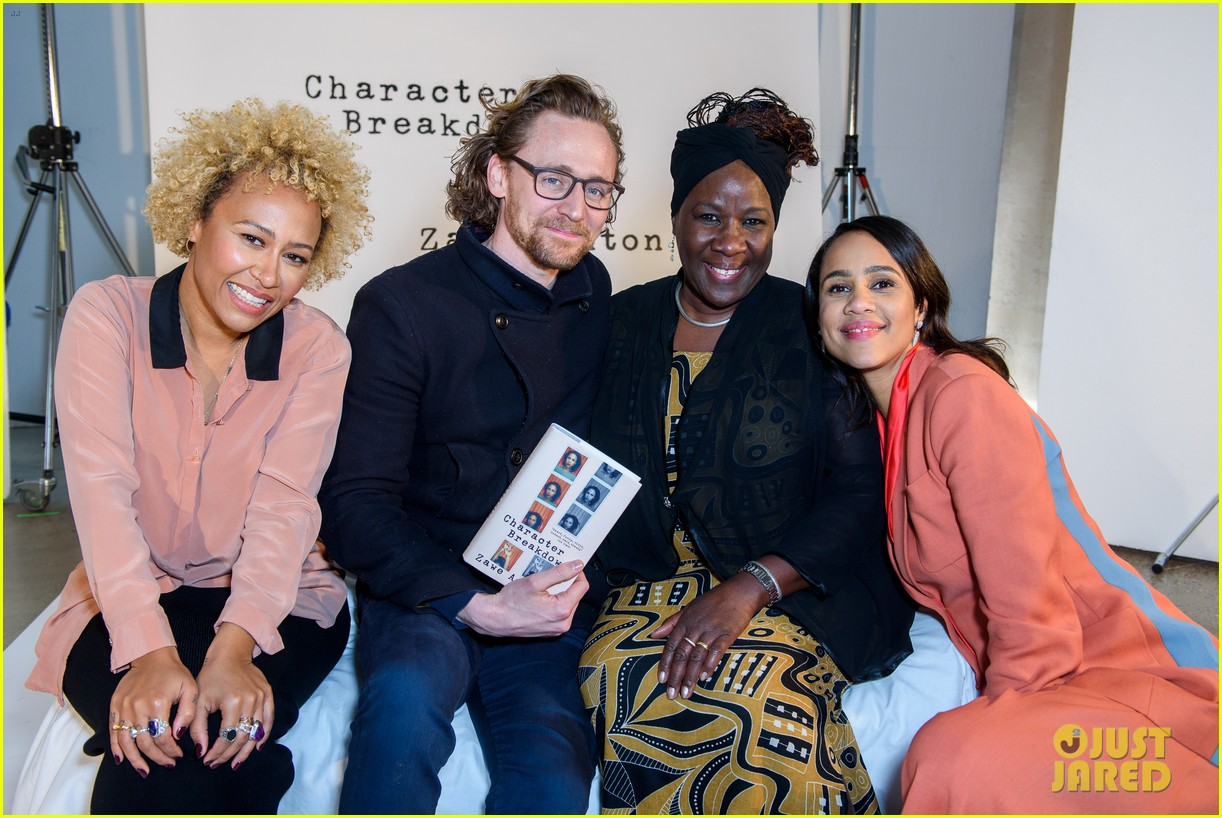 tom hiddleston supports betrayal co star zawe ashton at book launch 10