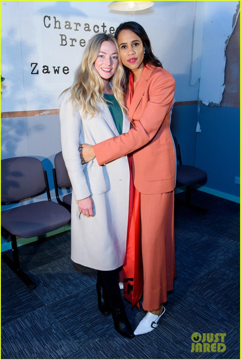 tom hiddleston supports betrayal co star zawe ashton at book launch 11