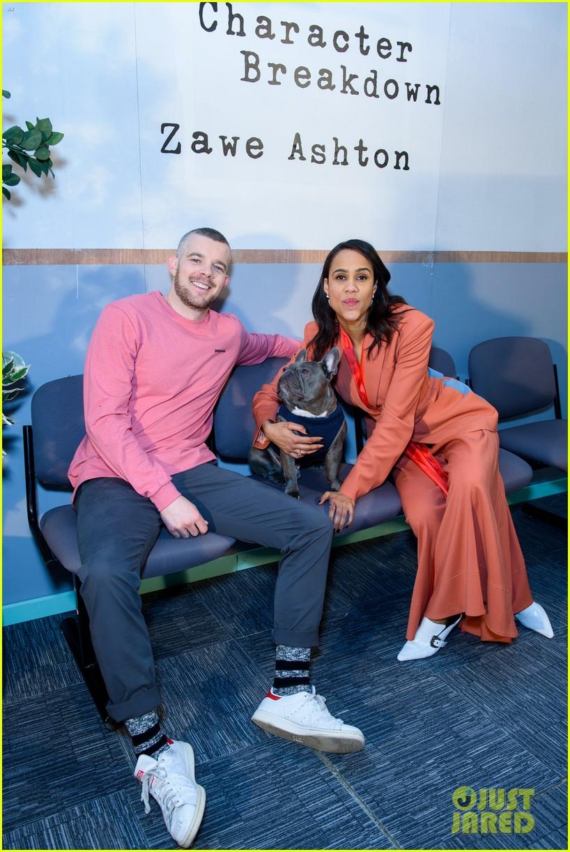 tom hiddleston supports betrayal co star zawe ashton at book launch 12