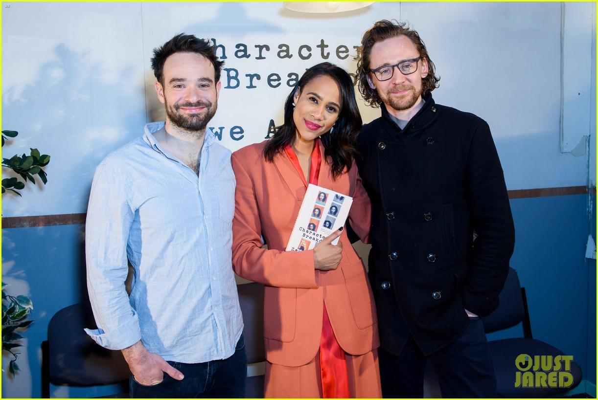 tom hiddleston supports betrayal co star zawe ashton at book launch 14