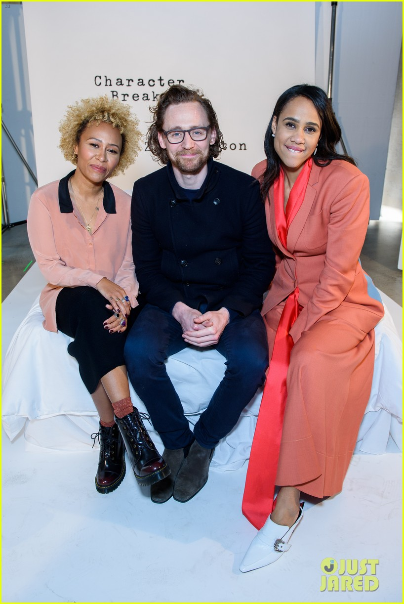 tom hiddleston supports betrayal co star zawe ashton at book launch 15