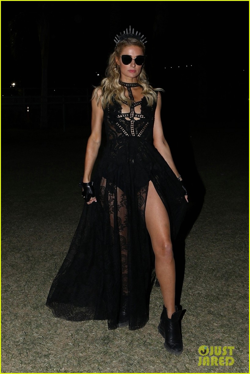 paris hilton wraps up weekend one at coachella in style 024273251