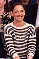 katie holmes sits courtside to cheer on the knicks 01
