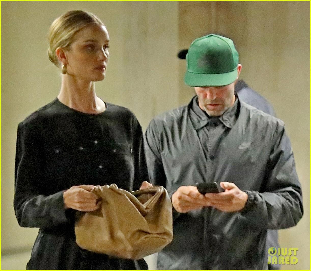 Rosie Huntington-Whiteley & Jason Statham Coordinate Their
