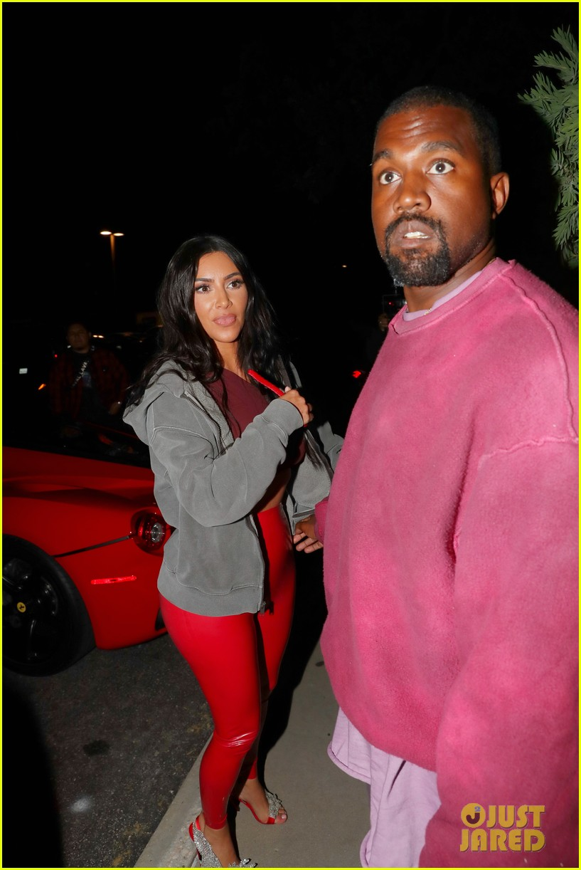 kim kardashian kanye west travis scott party 01