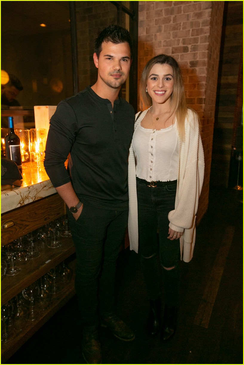 Taylor Lautner & Girlfriend Tay Dome Wine & Dine in San ...