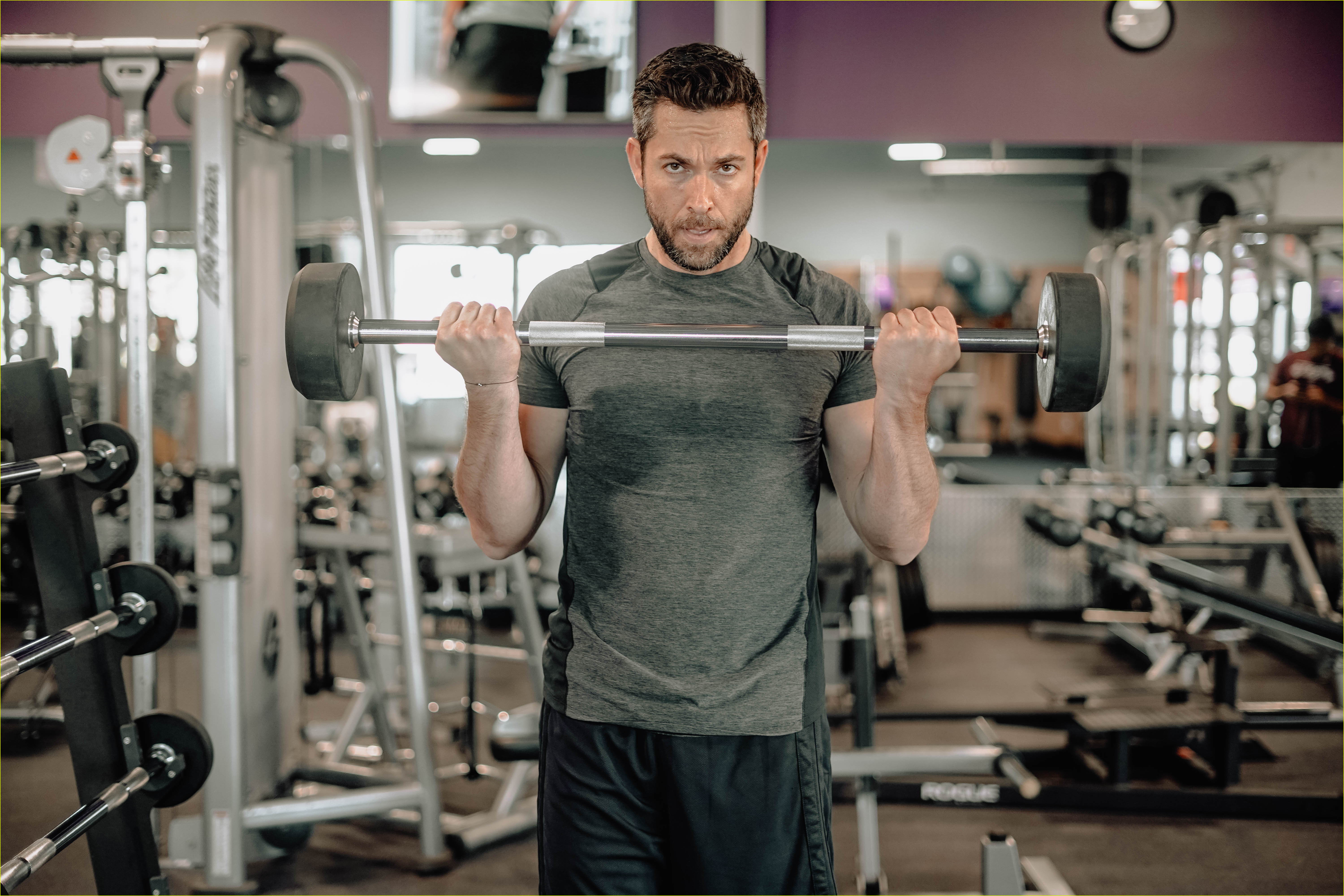 zachary levi bares massive biceps promoting flow supplements company 03