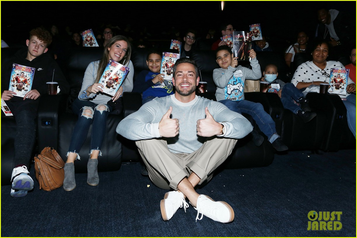 zachary levi teams up with lollipop network for shazam screening 01