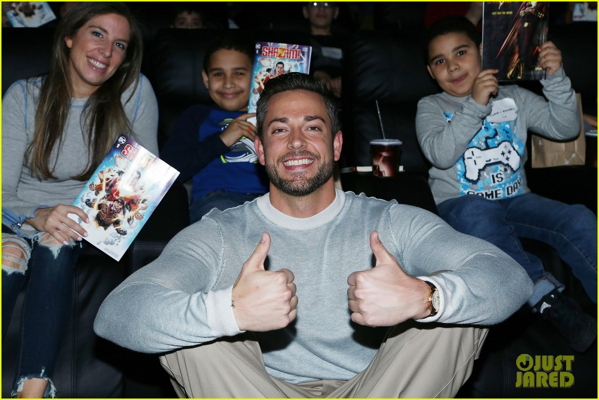 zachary levi teams up with lollipop network for shazam screening 03