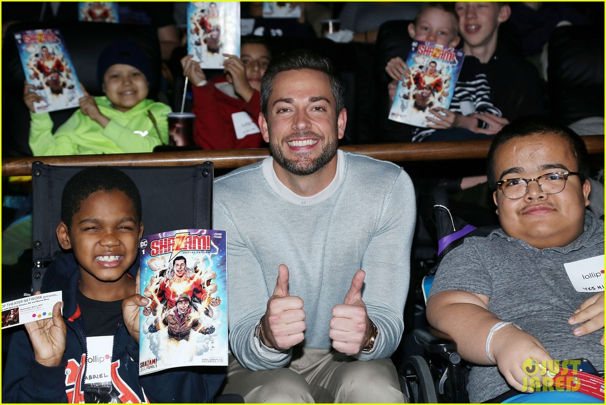 zachary levi teams up with lollipop network for shazam screening 05
