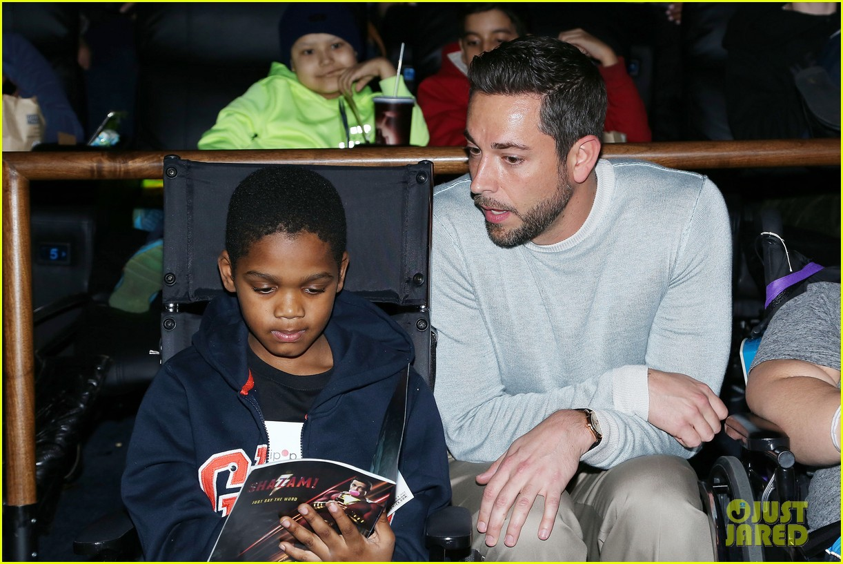 zachary levi teams up with lollipop network for shazam screening 13