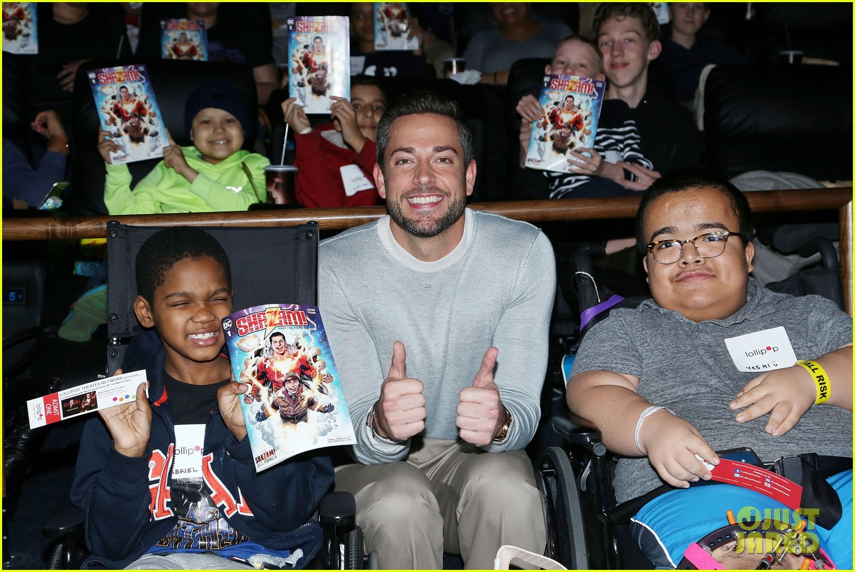 zachary levi teams up with lollipop network for shazam screening 16