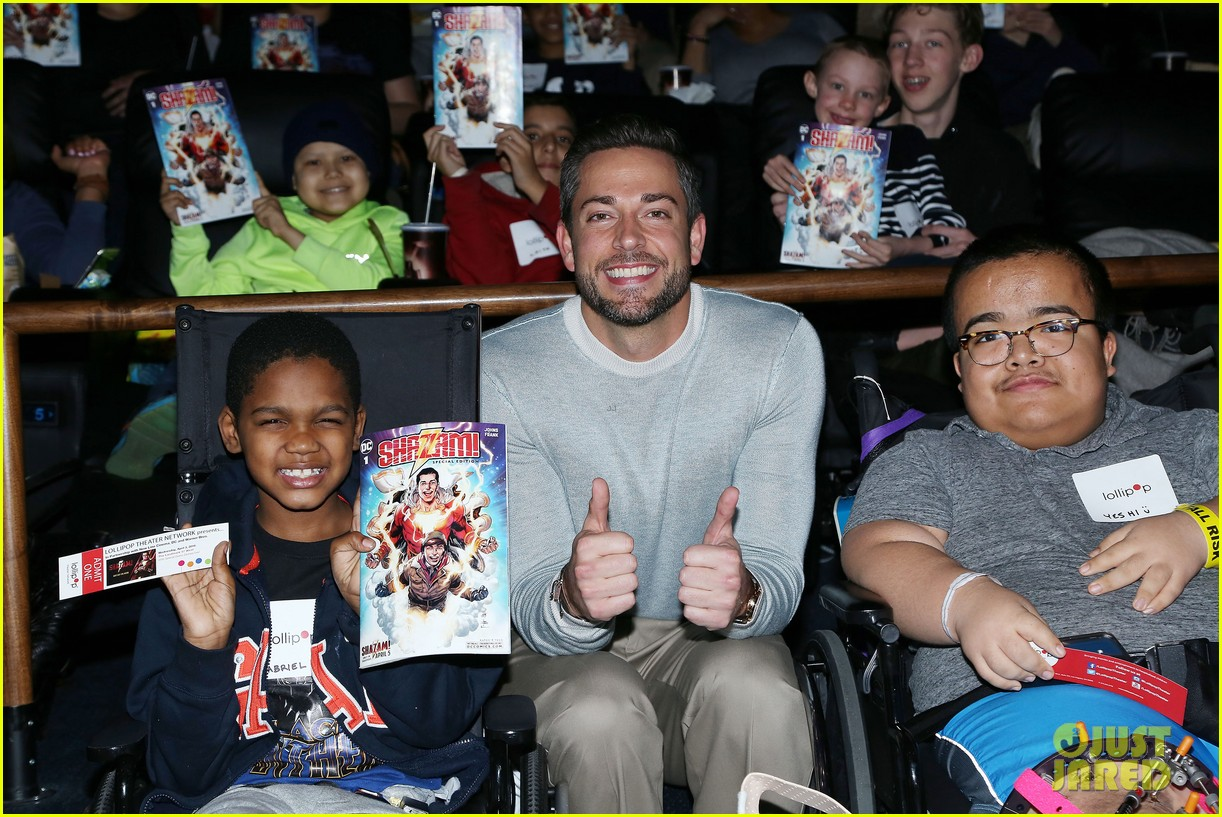 zachary levi teams up with lollipop network for shazam screening 17
