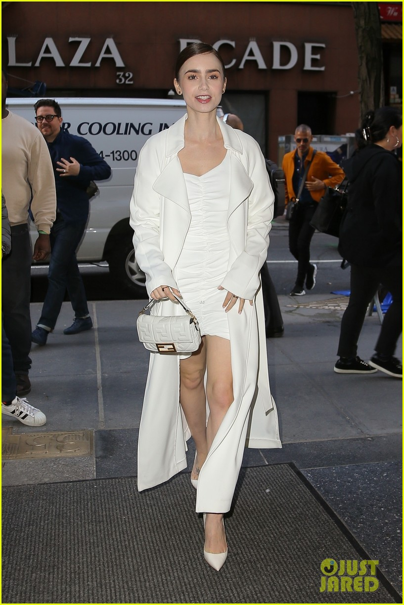 lily collins good morning america appearance 01