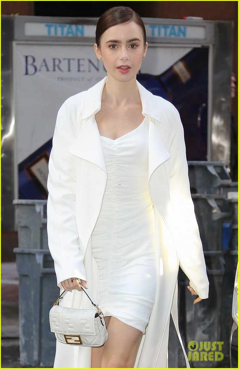 lily collins good morning america appearance 04