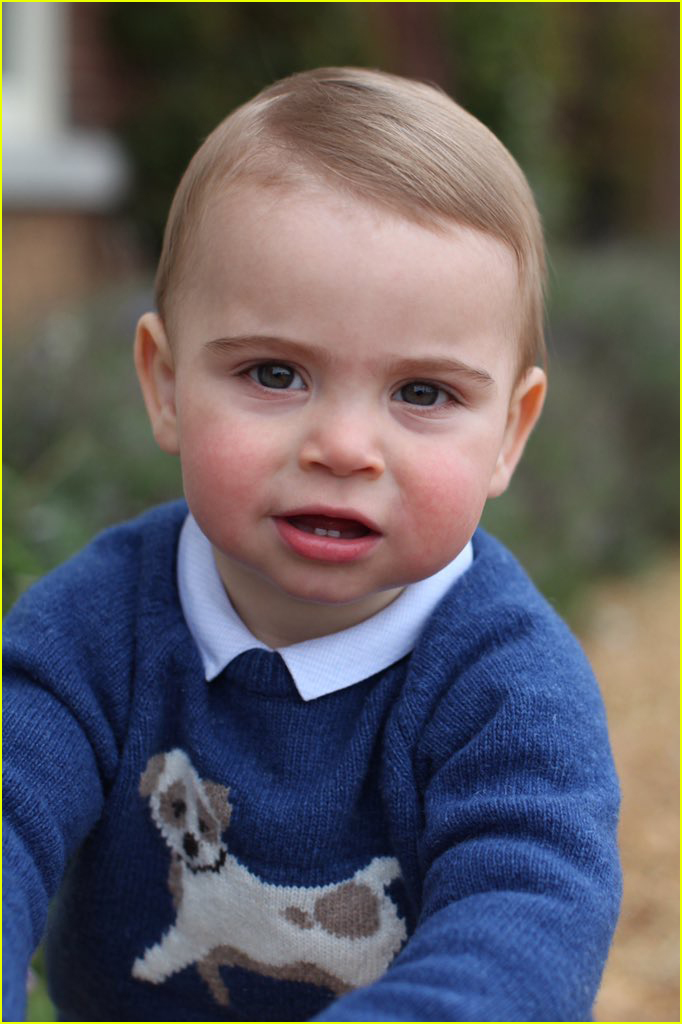 Prince Louis is All Sm...
