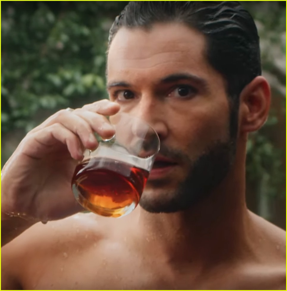Tom Ellis Bares His Hot Chiseled Abs For 'Lucifer' Date