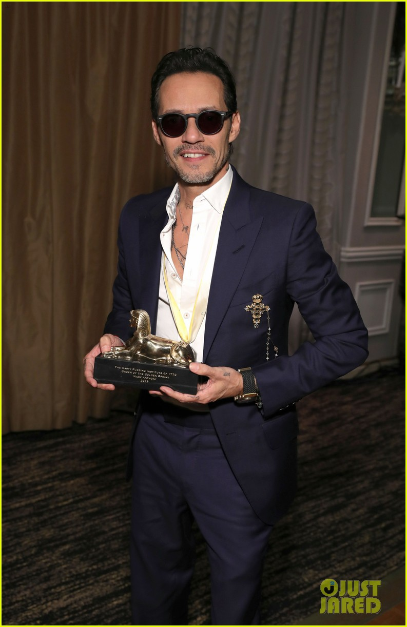 marc anthony gets honored at order of golden sphinx gala 12