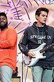 john mayer performs with khalid at coachella 04