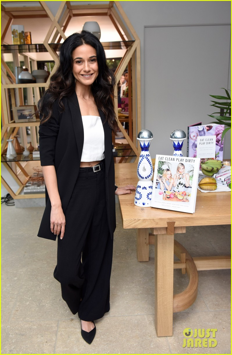 lea michele eva longoria more celebrate eat clean play dirty cookbook launch 10