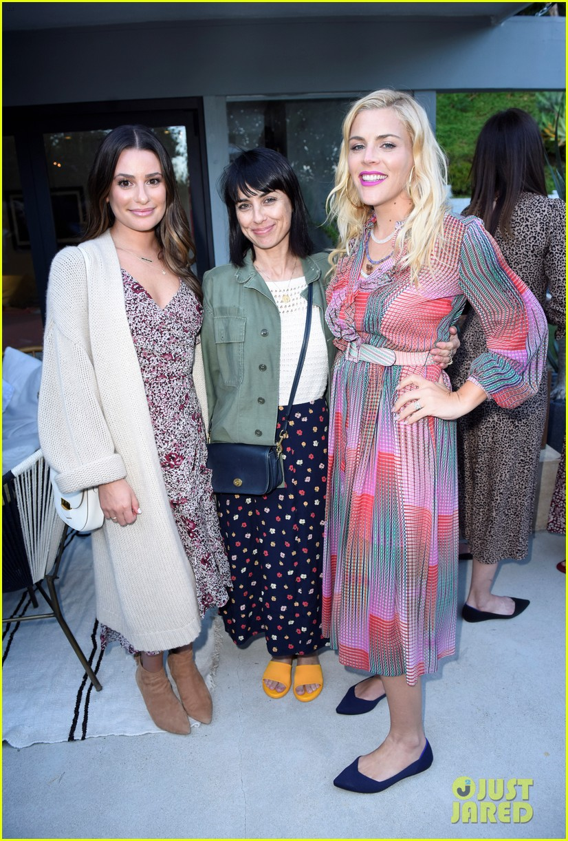 lea michele eva longoria more celebrate eat clean play dirty cookbook launch 13