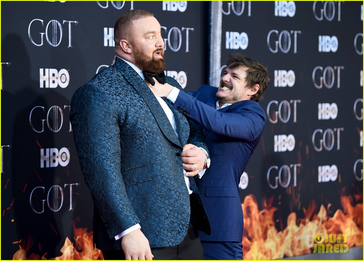 jason momoa and peter dinklage join game of thrones cast at season 8 premiere 284266887
