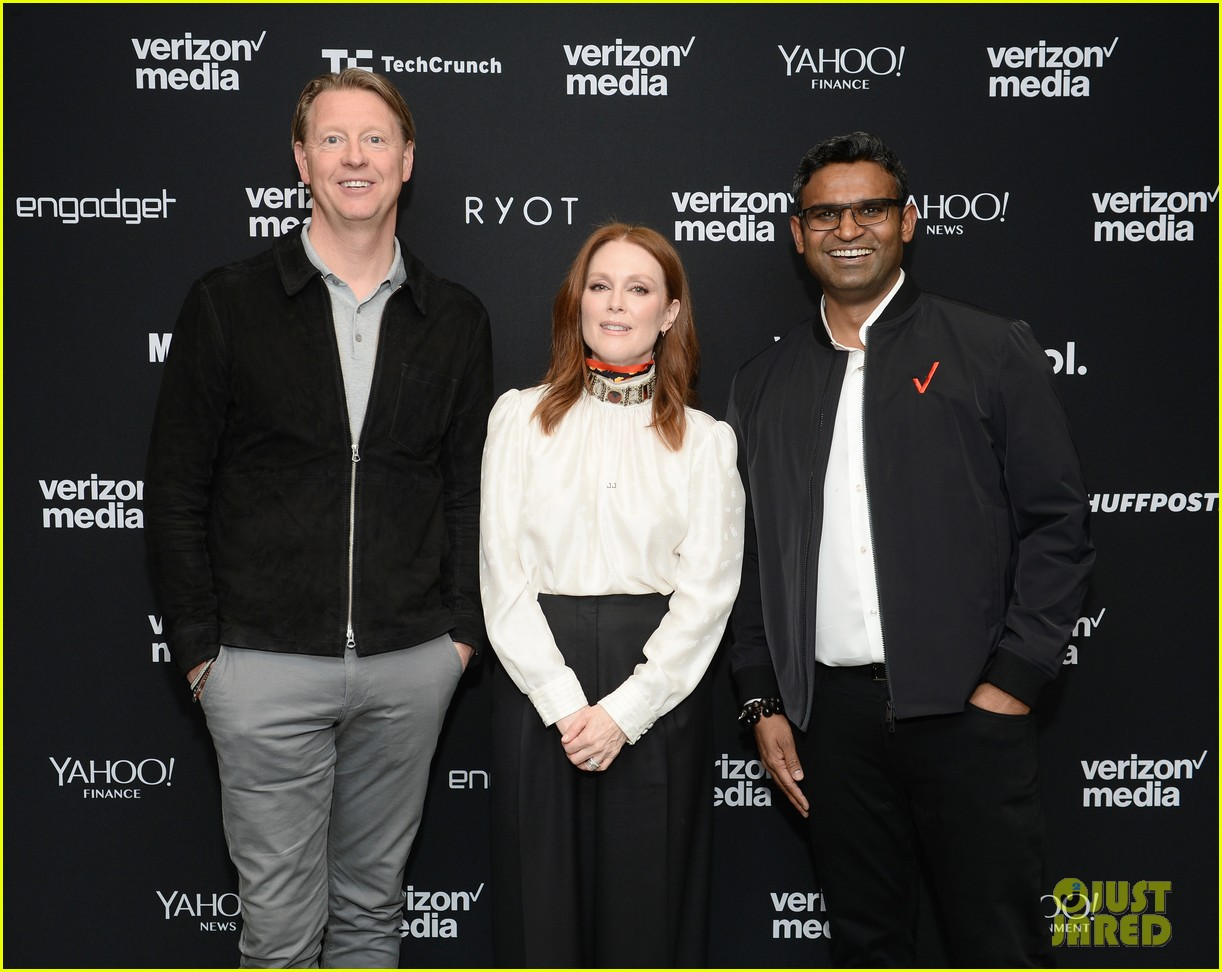 julianne moore attends verizon media upfronts 06