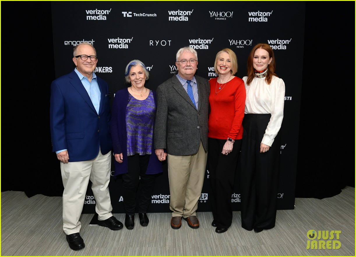 julianne moore attends verizon media upfronts 12