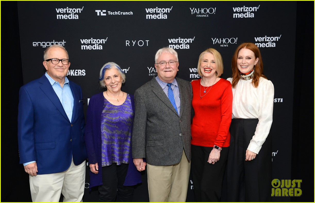 julianne moore attends verizon media upfronts 13