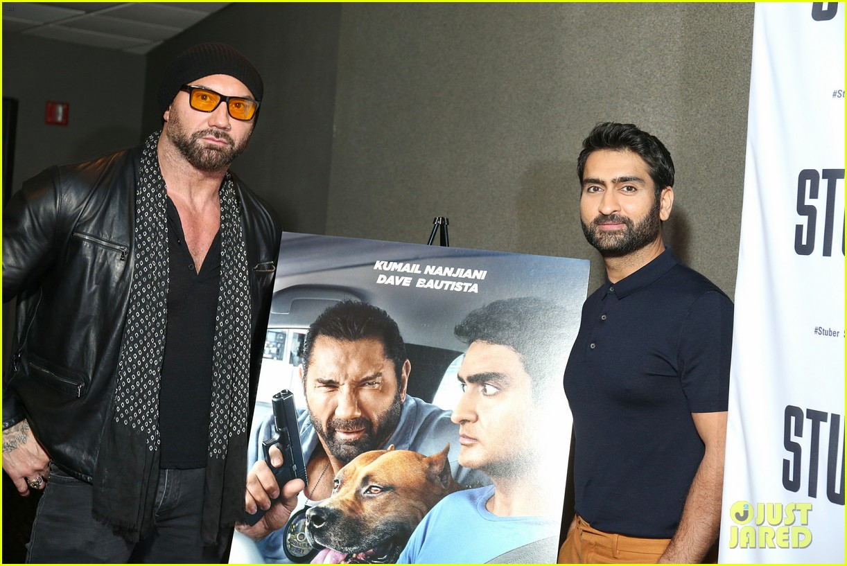 kumail nanjiani dave bautista team up in action comedy stuber 044278315
