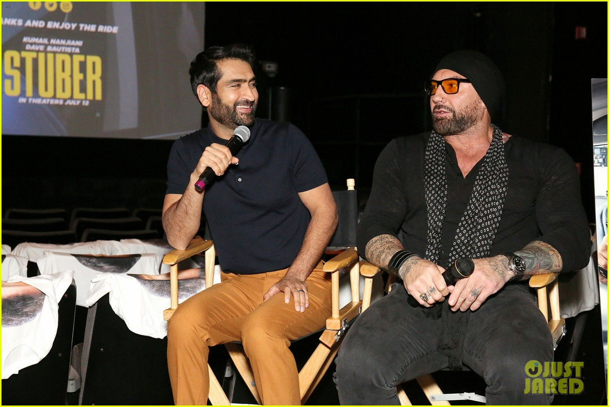 kumail nanjiani dave bautista team up in action comedy stuber 074278318