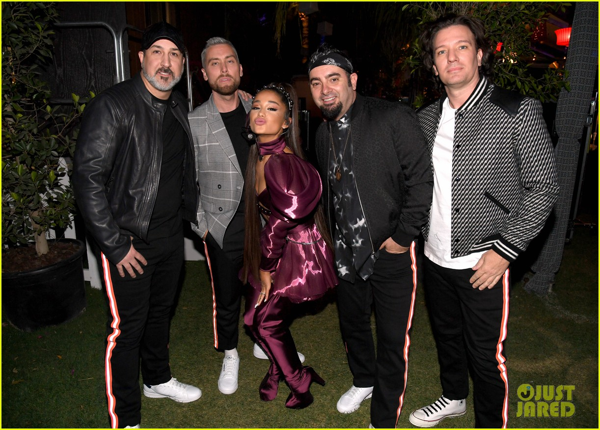 nsync join ariana grande on stage for coachella set 054273205