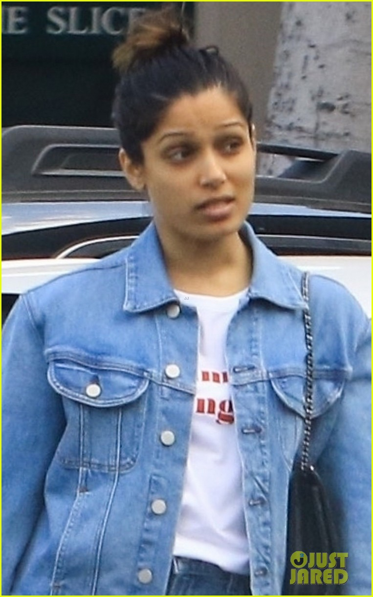 freida pinto goes fresh faced for afternoon outing 04