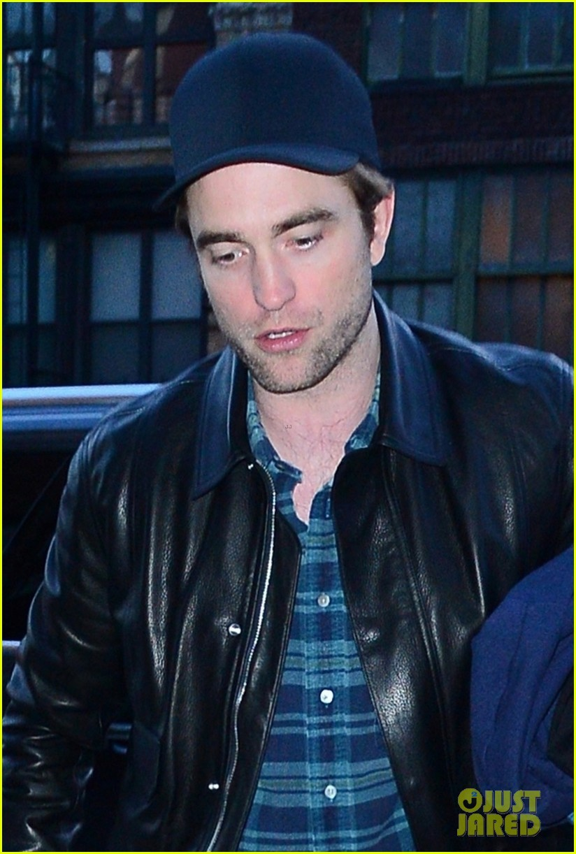 robert pattinson meets up with friends at the movies 02