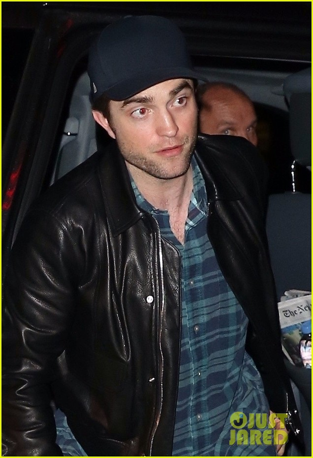 robert pattinson meets up with friends at the movies 04