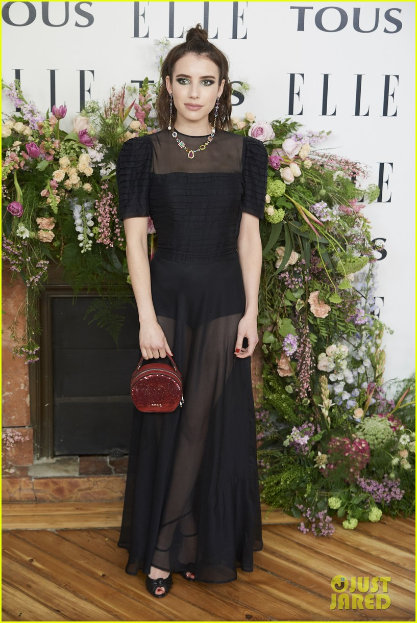 emma roberts celebrates tous jewelry launch in madrid 01