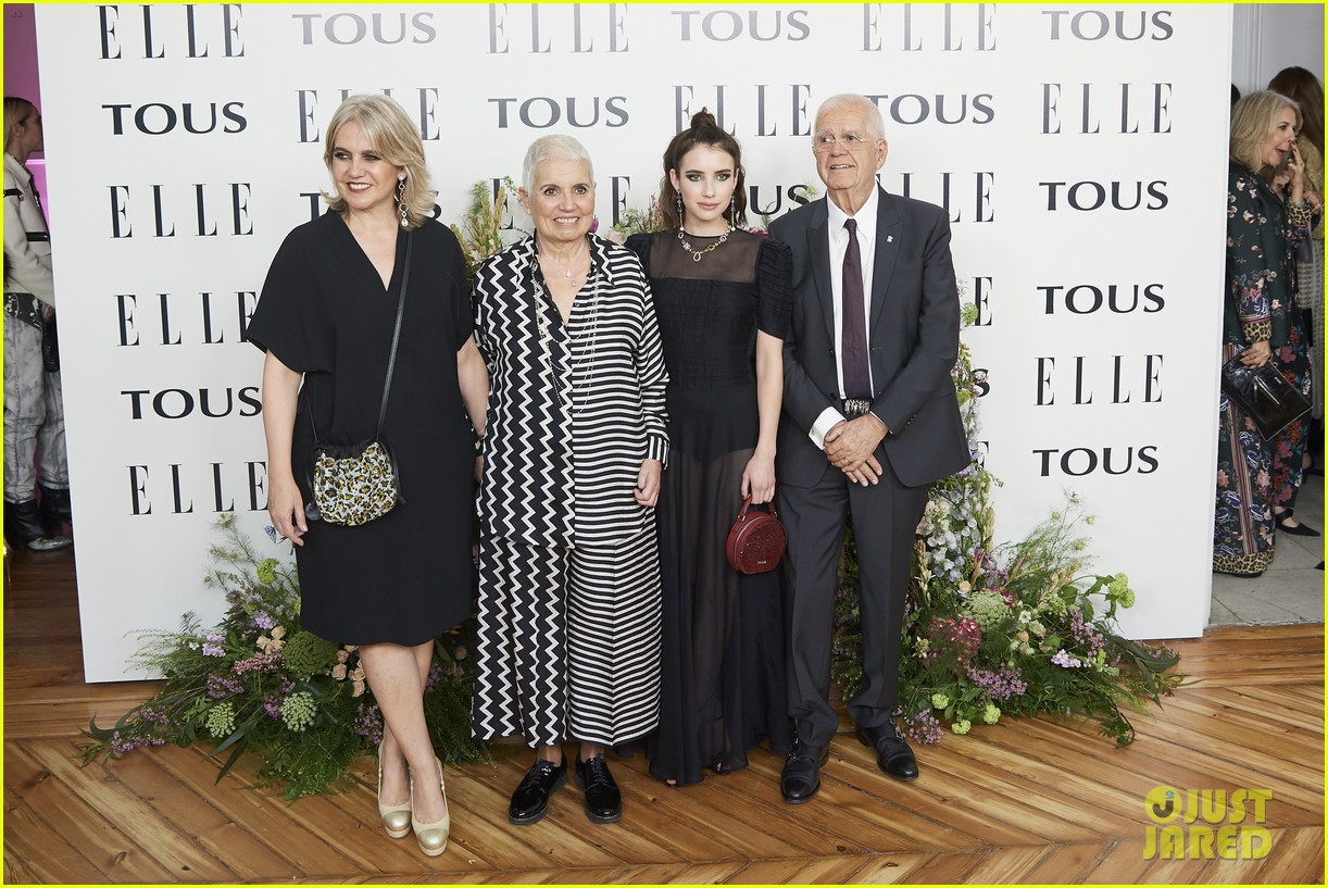 emma roberts celebrates tous jewelry launch in madrid 04