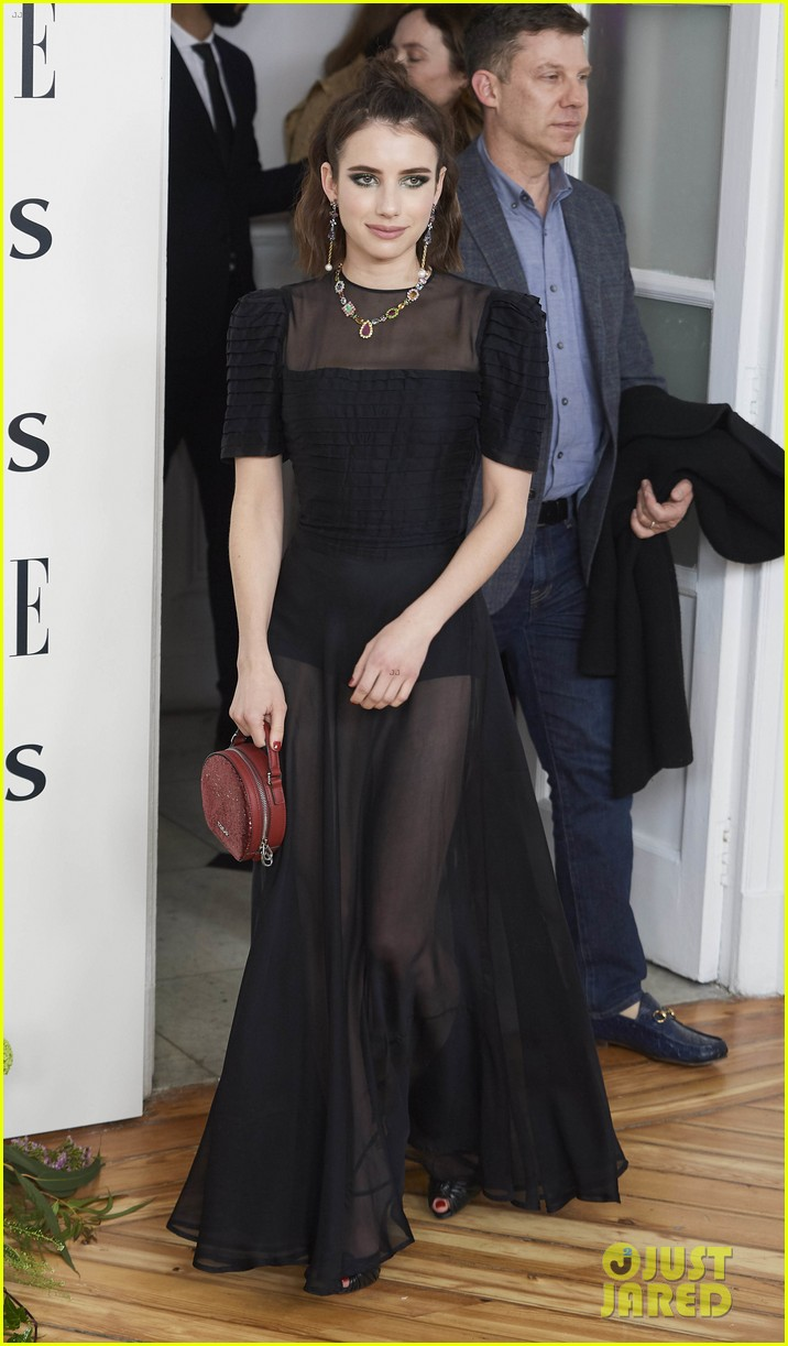 emma roberts celebrates tous jewelry launch in madrid 094267164