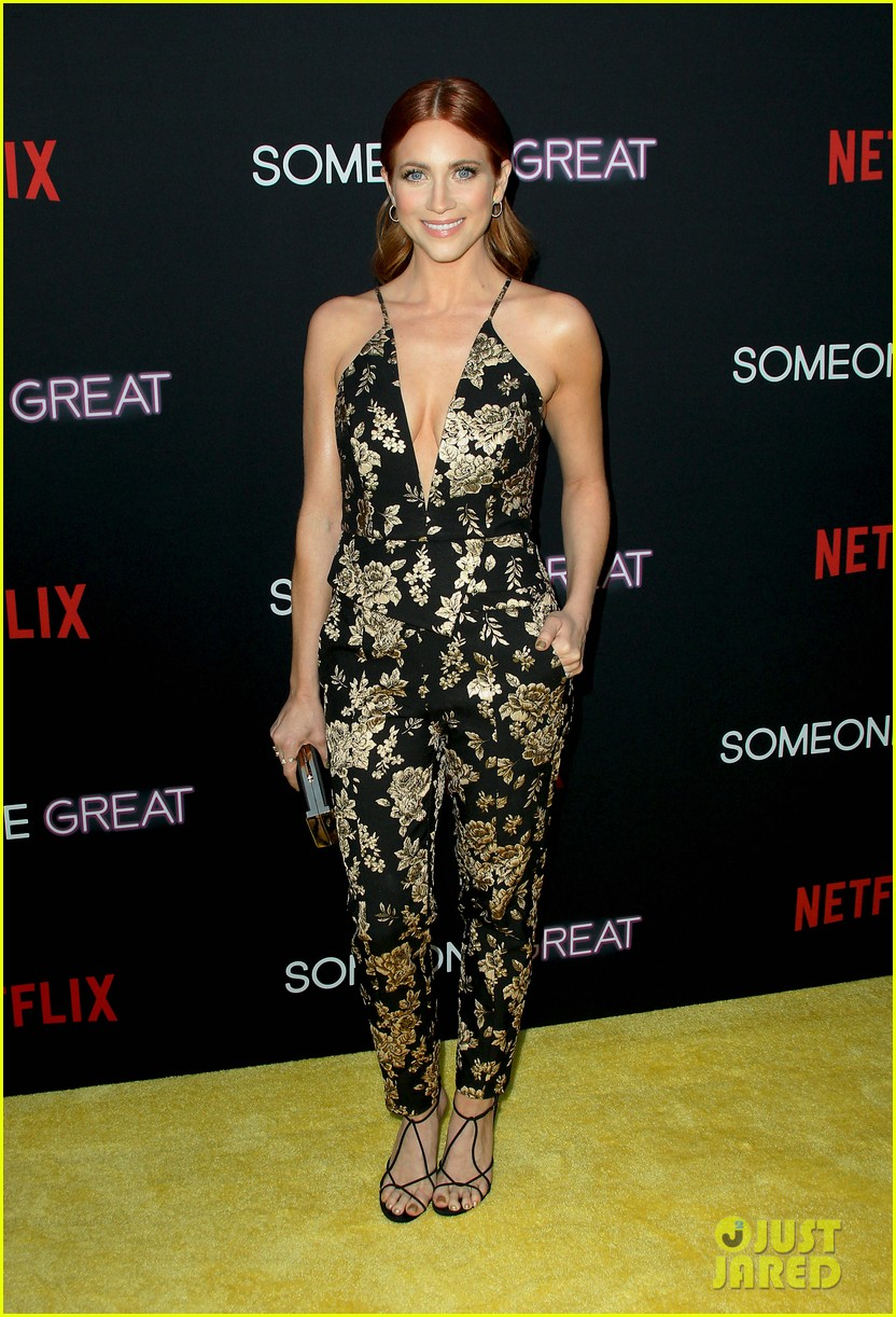 gina rodriguez is supported by fiance joe locicero at someone great premiere 13