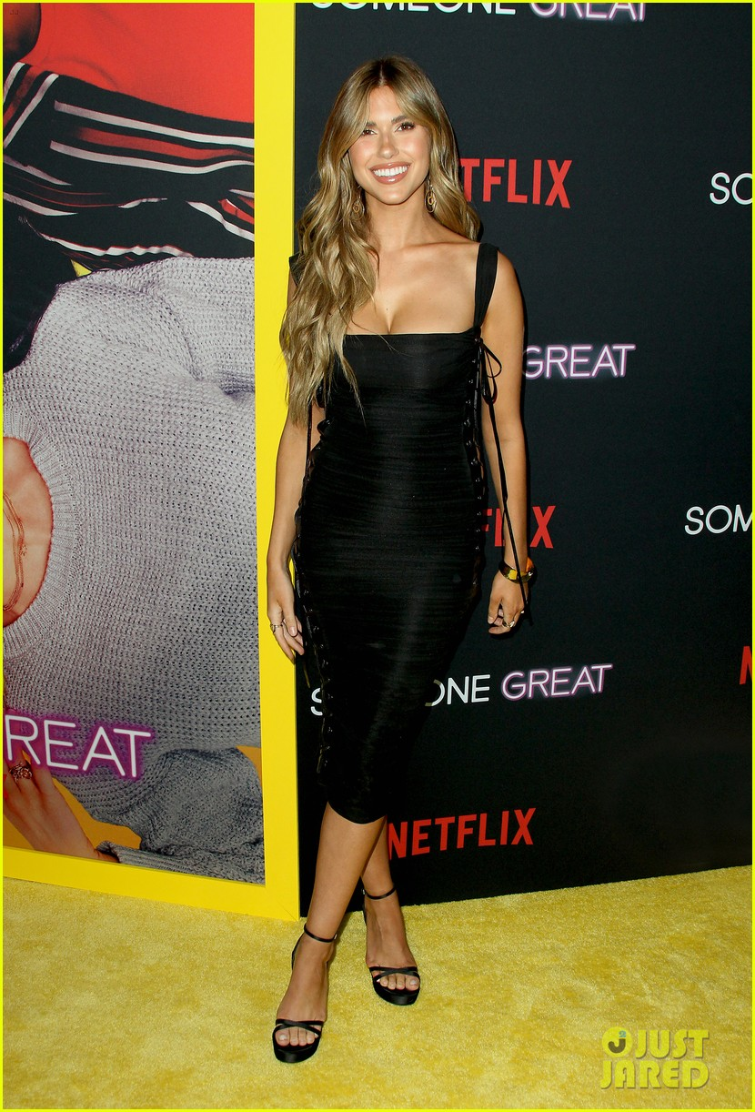 gina rodriguez is supported by fiance joe locicero at someone great premiere 17
